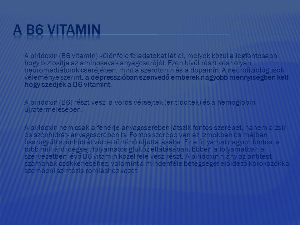 A b6 vitamin