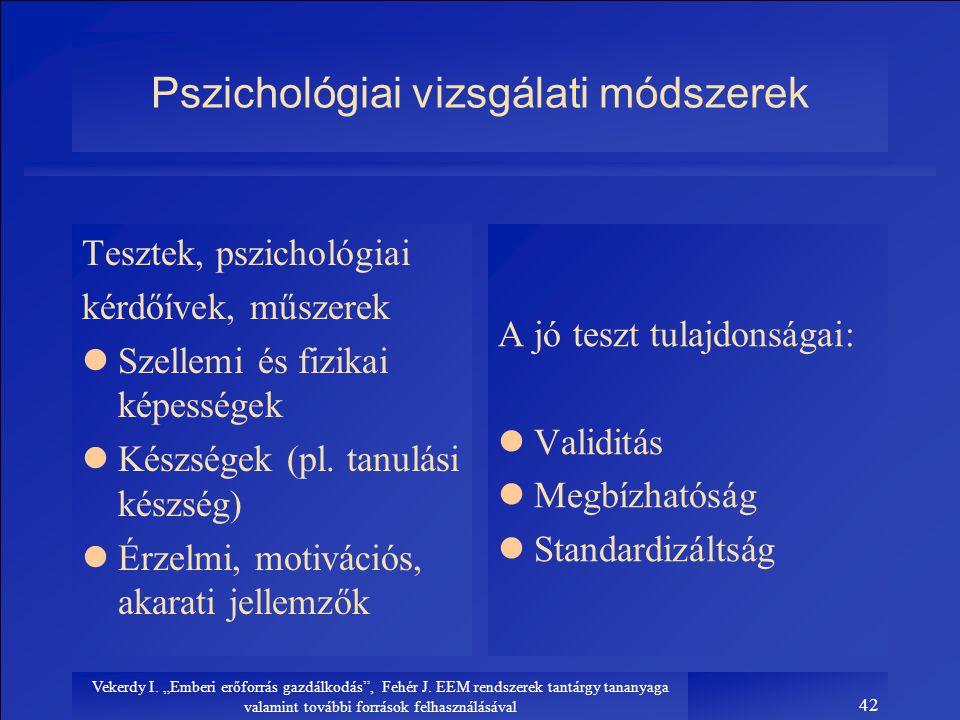 Pszichológiai vizsgálati módszerek