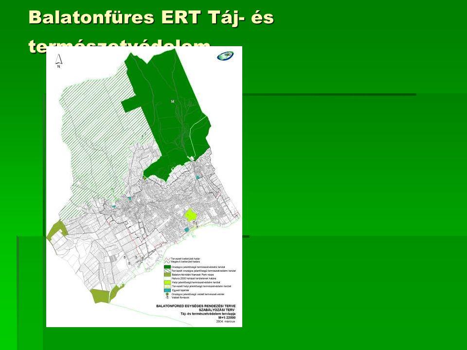 Balatonfüres ERT Táj- és természetvédelem