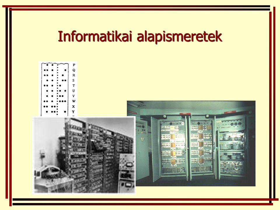 Informatikai alapismeretek