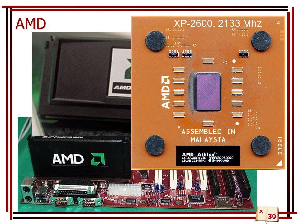 AMD XP-2600, 2133 Mhz x 30
