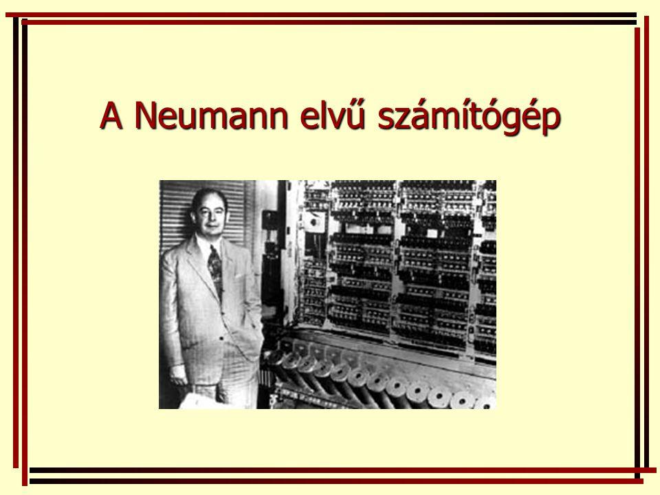 A Neumann elvű számítógép