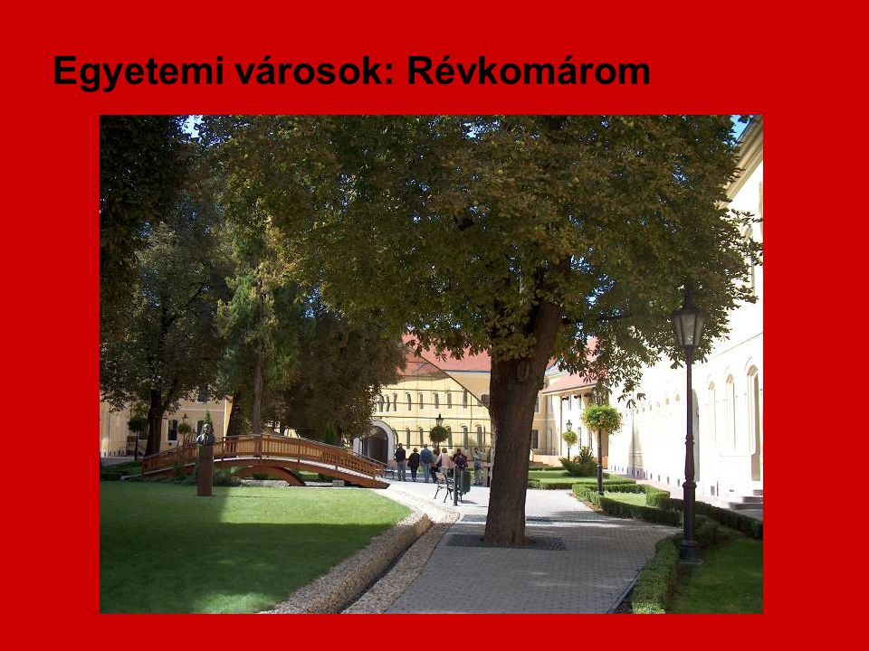Egyetemi városok: Révkomárom