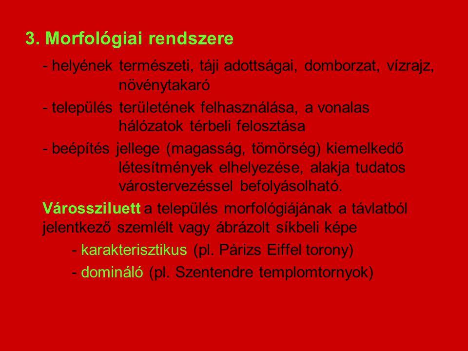 3. Morfológiai rendszere