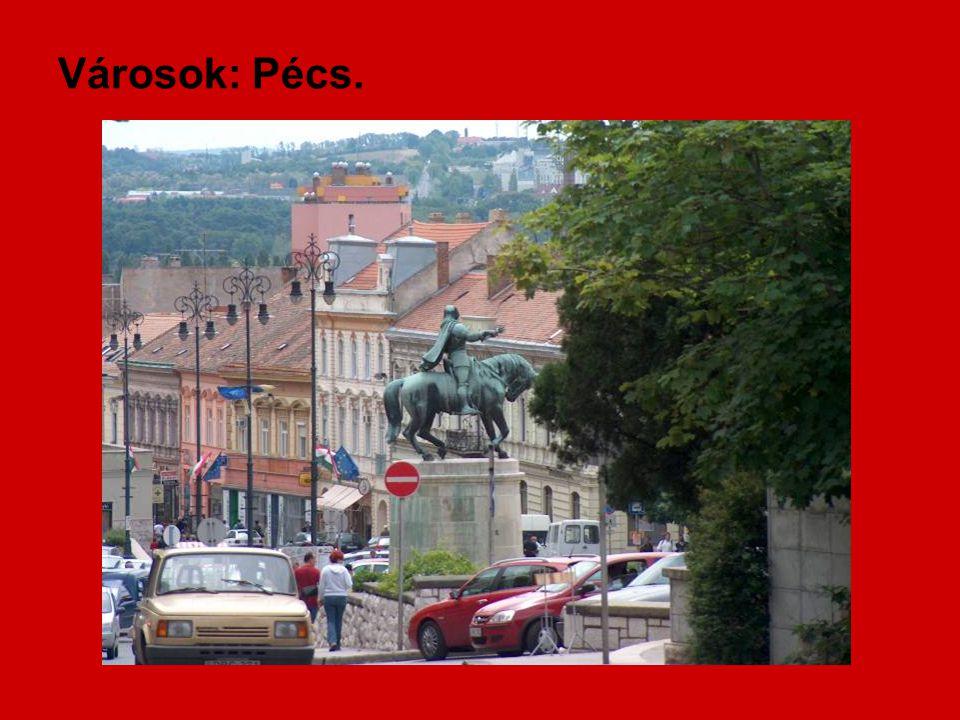 Városok: Pécs.