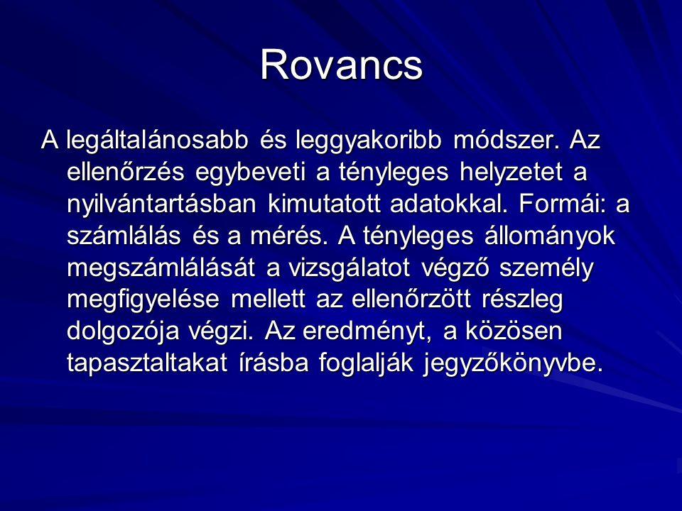 Rovancs