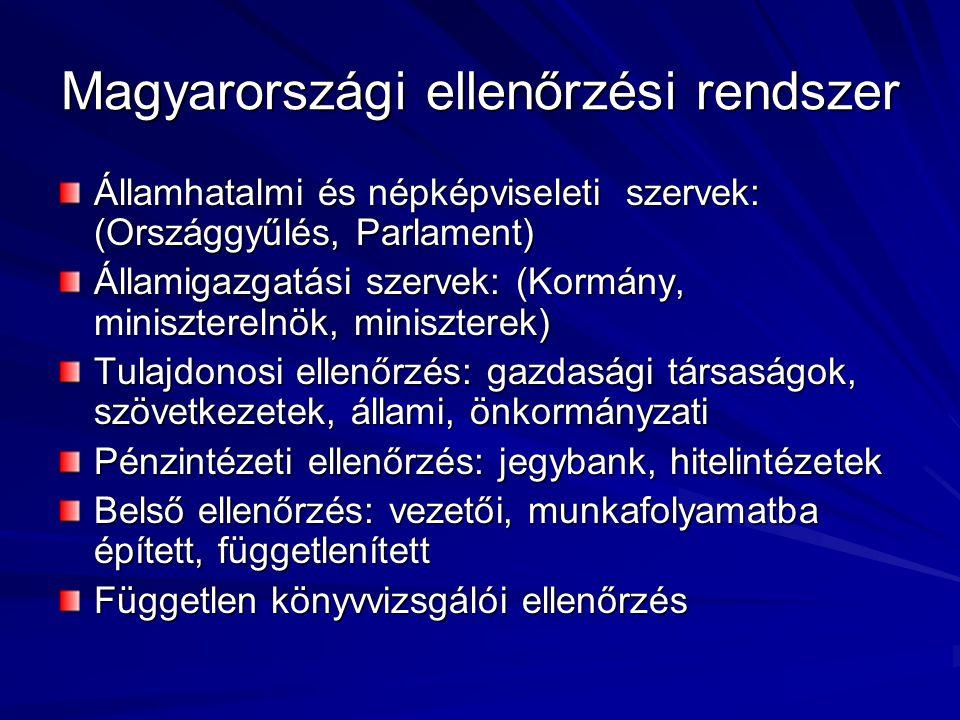 Magyarországi ellenőrzési rendszer