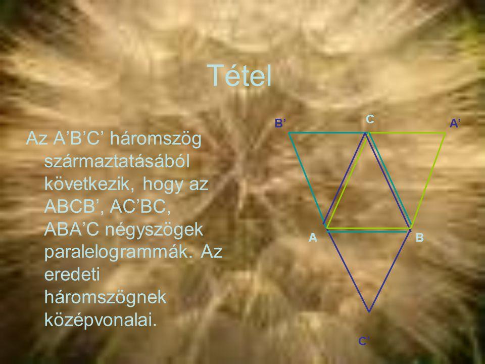 Tétel C. B' A'