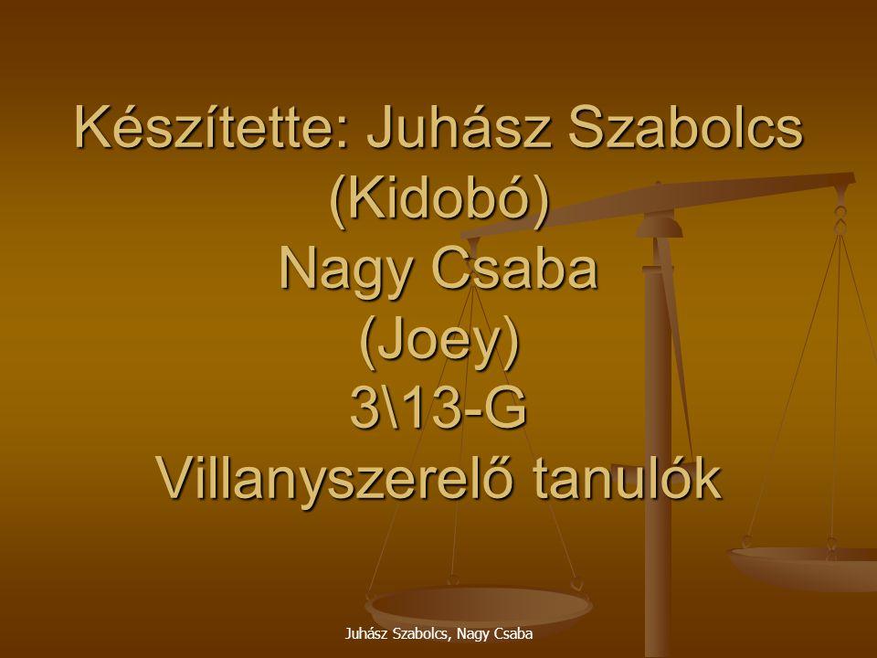 Juhász Szabolcs, Nagy Csaba