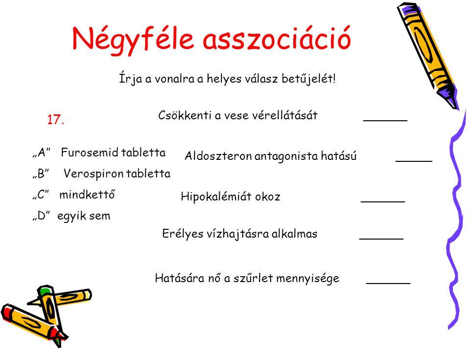 Írja a vonalra a helyes válasz betűjelét!