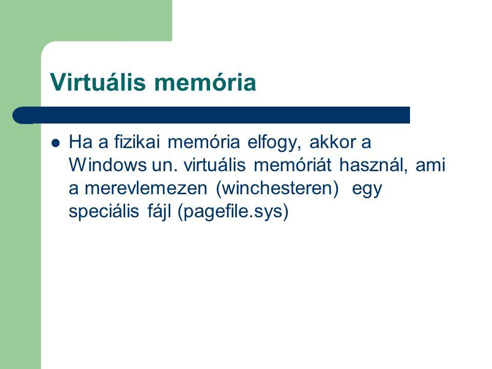 Virtuális memória