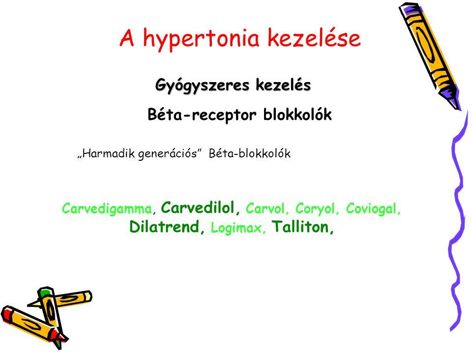Béta-receptor blokkolók