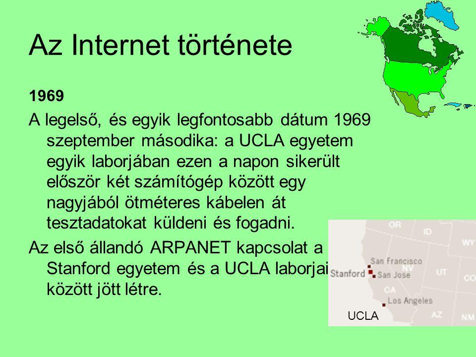 Az Internet története 1969.