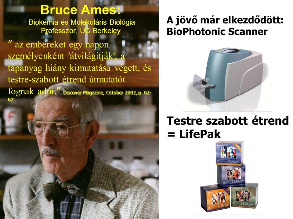 Bruce Ames: Biokémia és Molekuláris Biológia Professzor, UC Berkeley