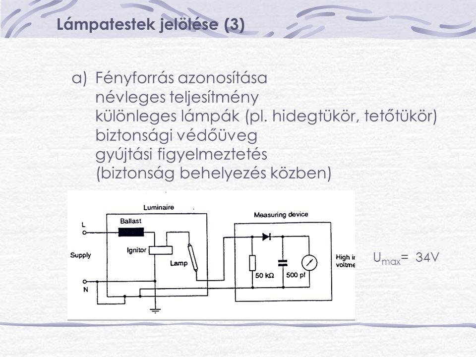 Lámpatestek jelölése (3)