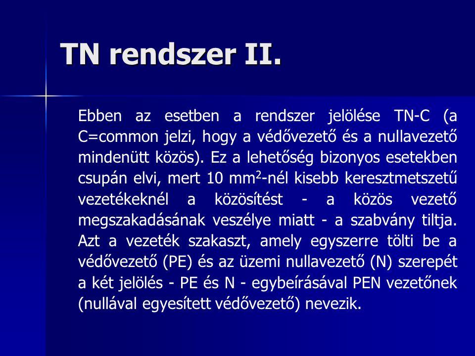 TN rendszer II.