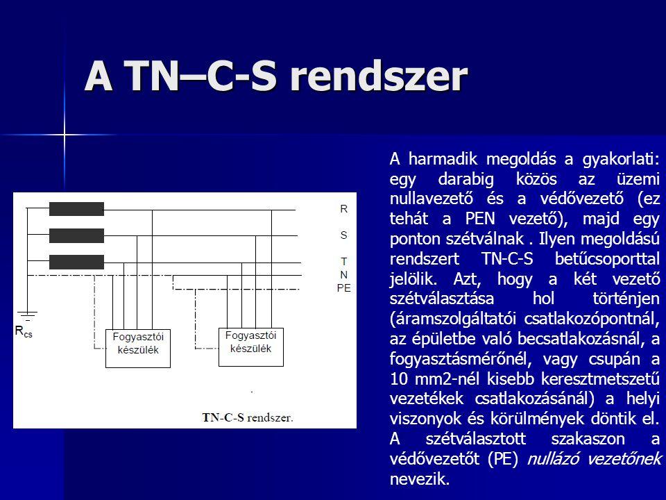 A TN–C-S rendszer
