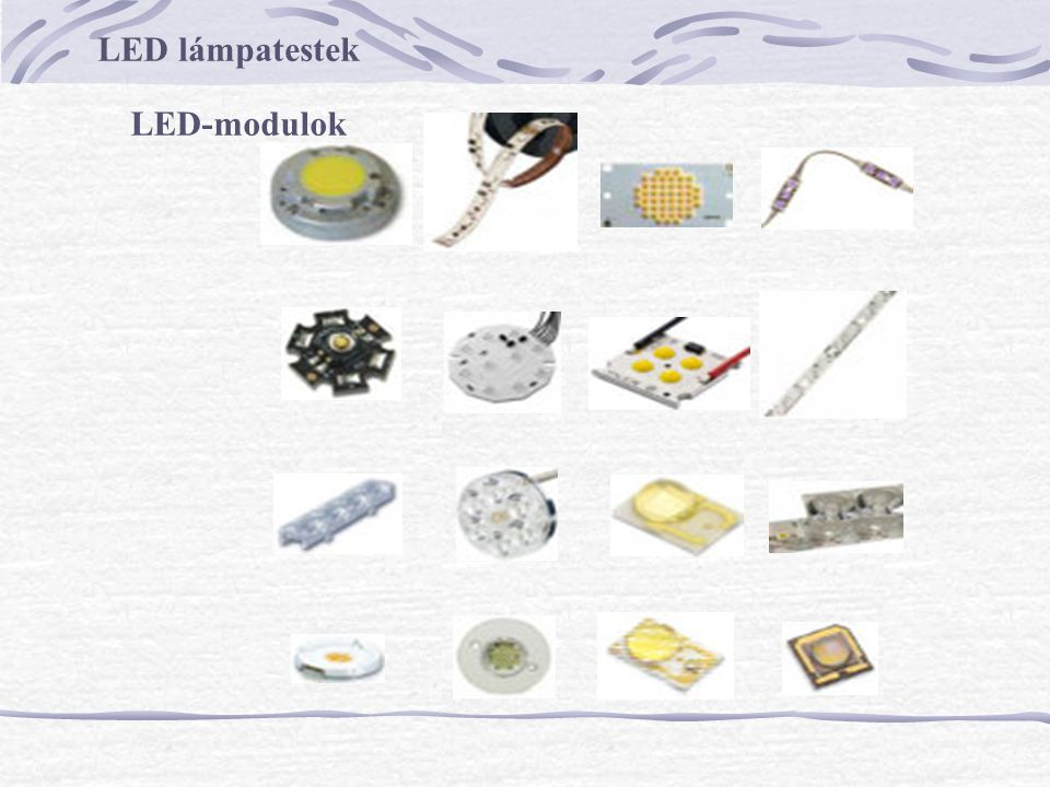 LED lámpatestek LED-modulok