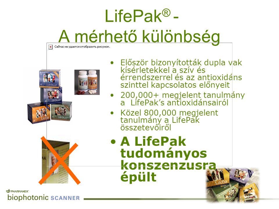 LifePak® - A mérhető különbség