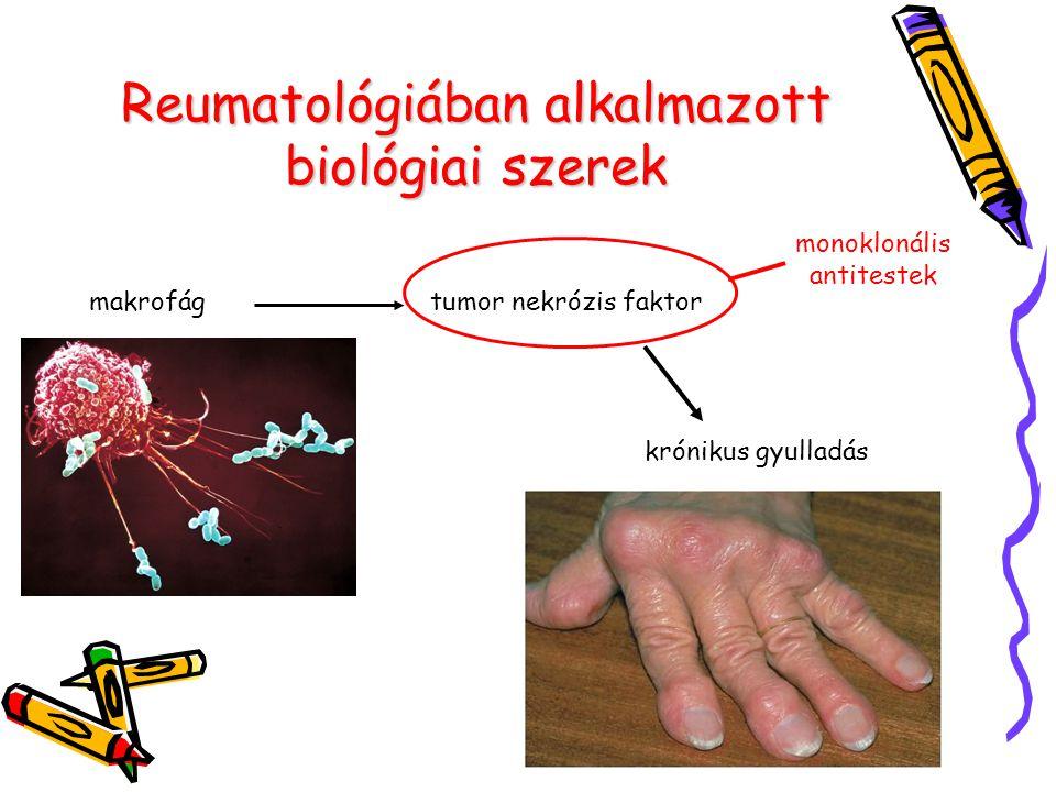 Reumatológiában alkalmazott biológiai szerek