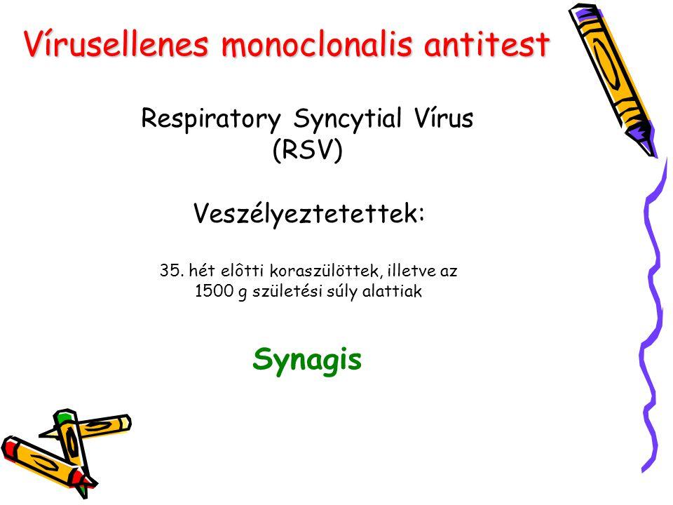 Vírusellenes monoclonalis antitest