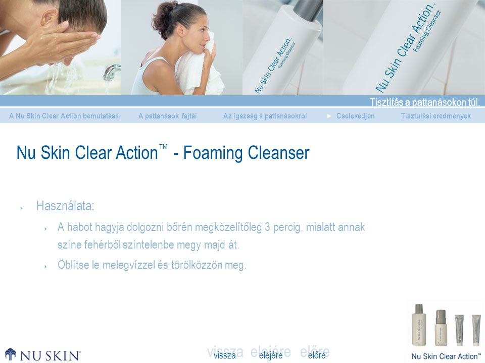 Nu Skin Clear Action™ - Foaming Cleanser
