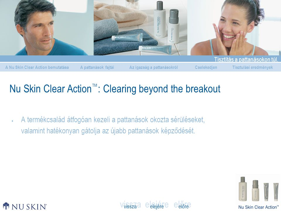 Nu Skin Clear Action™: Clearing beyond the breakout