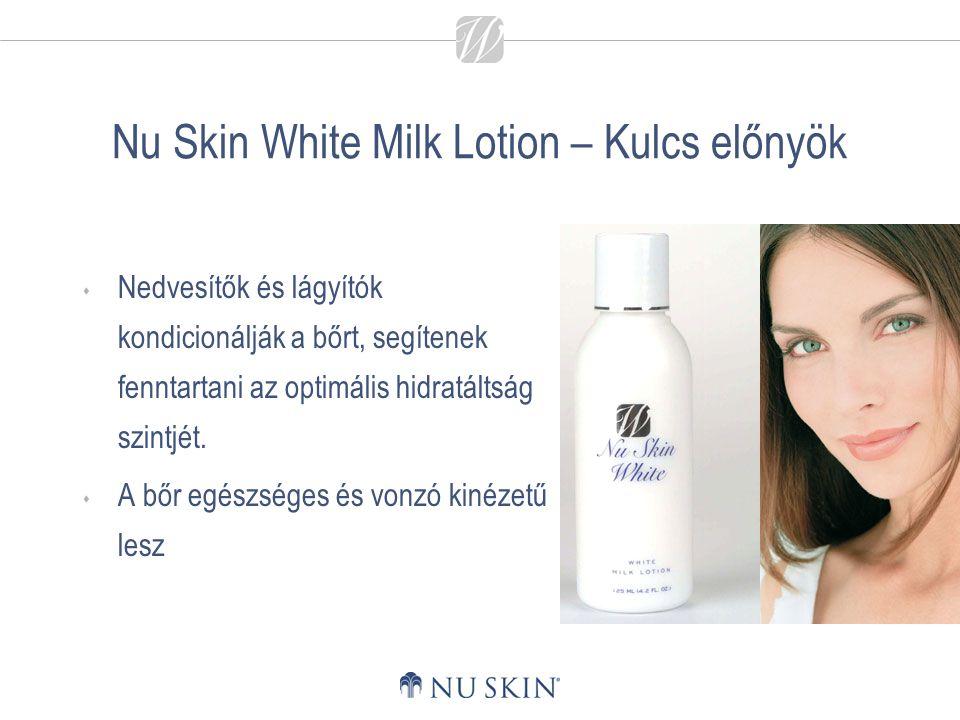 Nu Skin White Milk Lotion – Kulcs előnyök