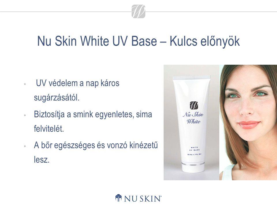 Nu Skin White UV Base – Kulcs előnyök