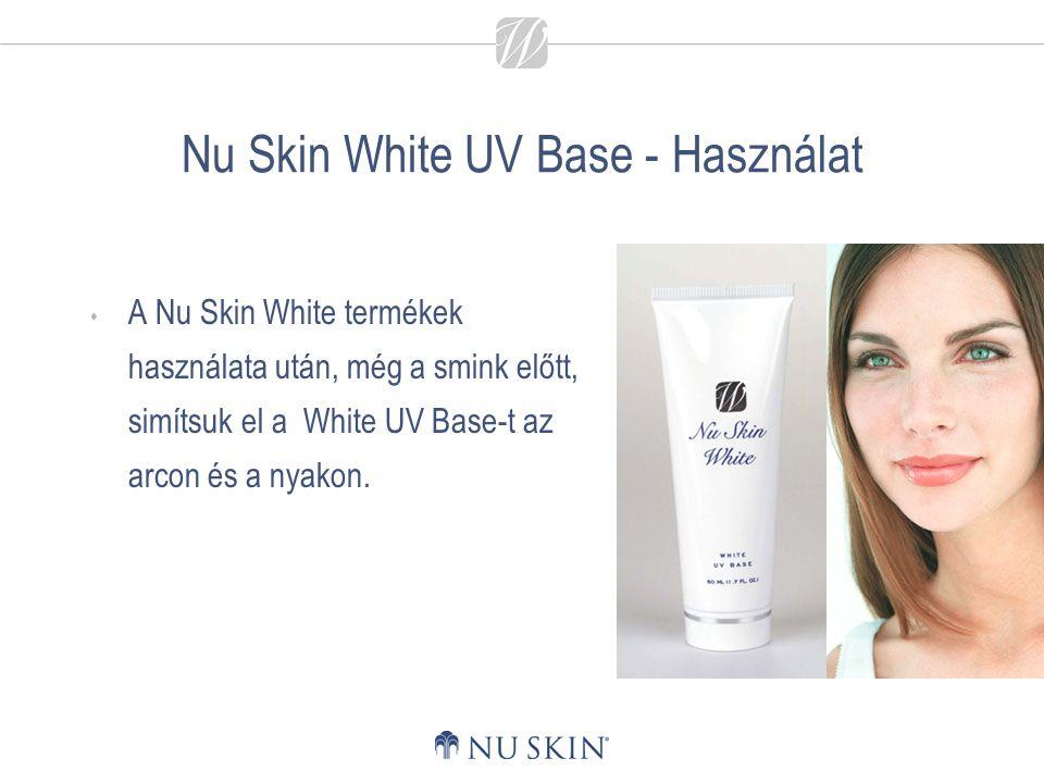 Nu Skin White UV Base - Használat