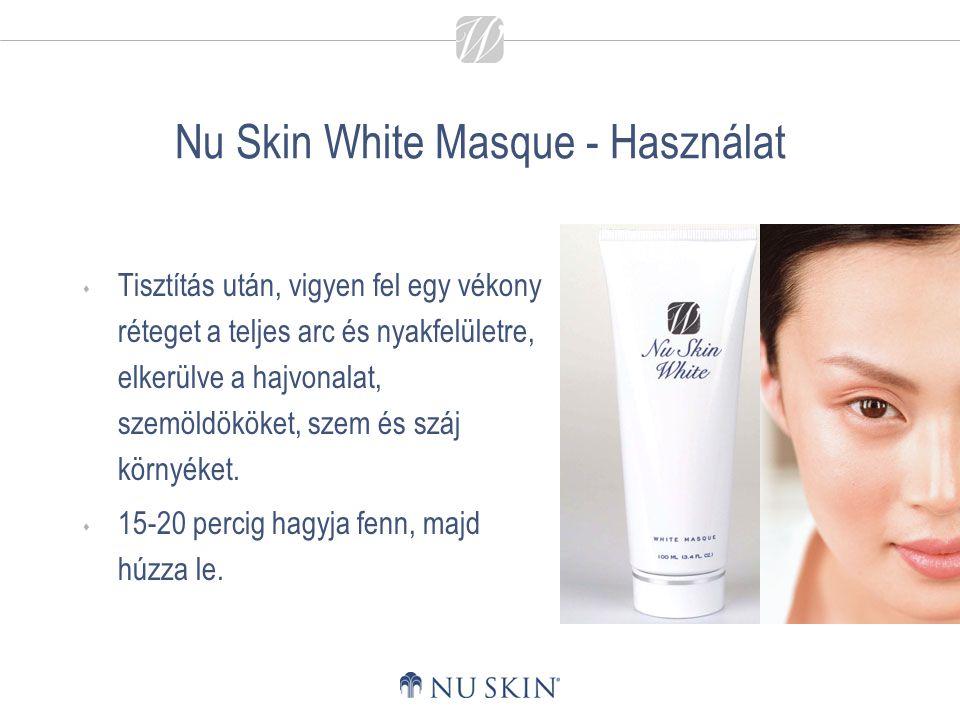 Nu Skin White Masque - Használat