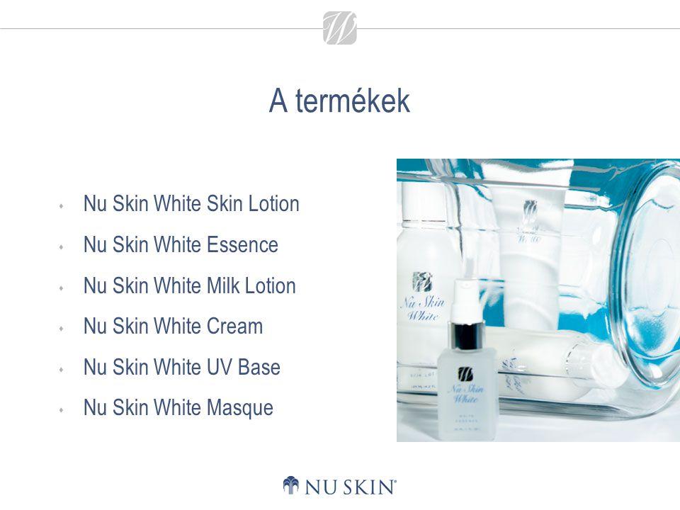 A termékek Nu Skin White Skin Lotion Nu Skin White Essence