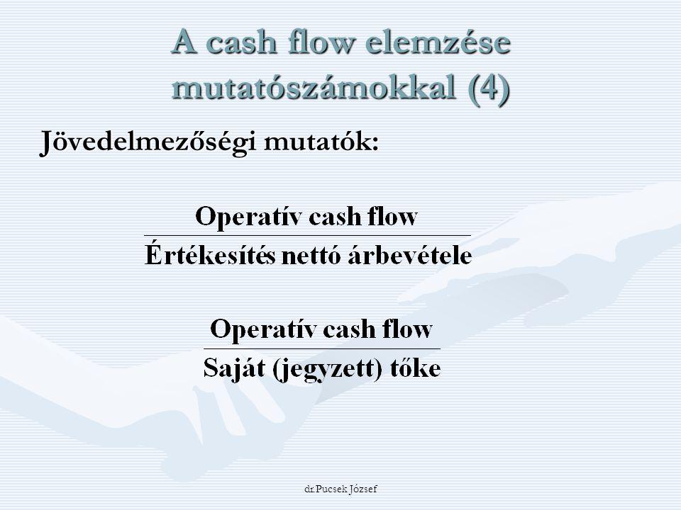 A cash flow elemzése mutatószámokkal (4)