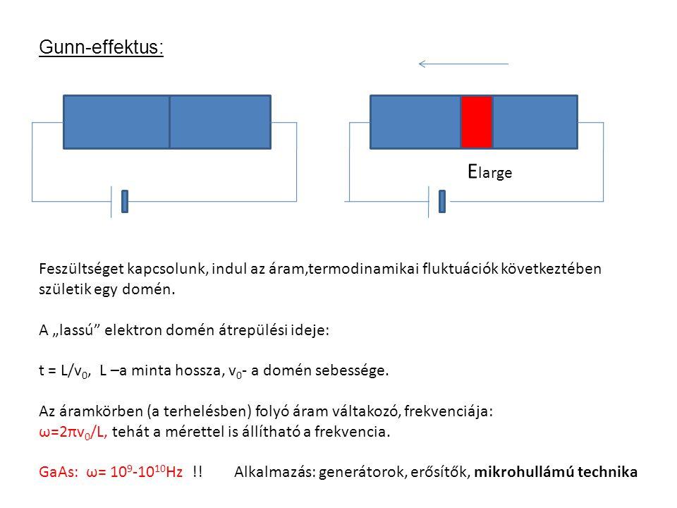 Elarge Gunn-effektus: