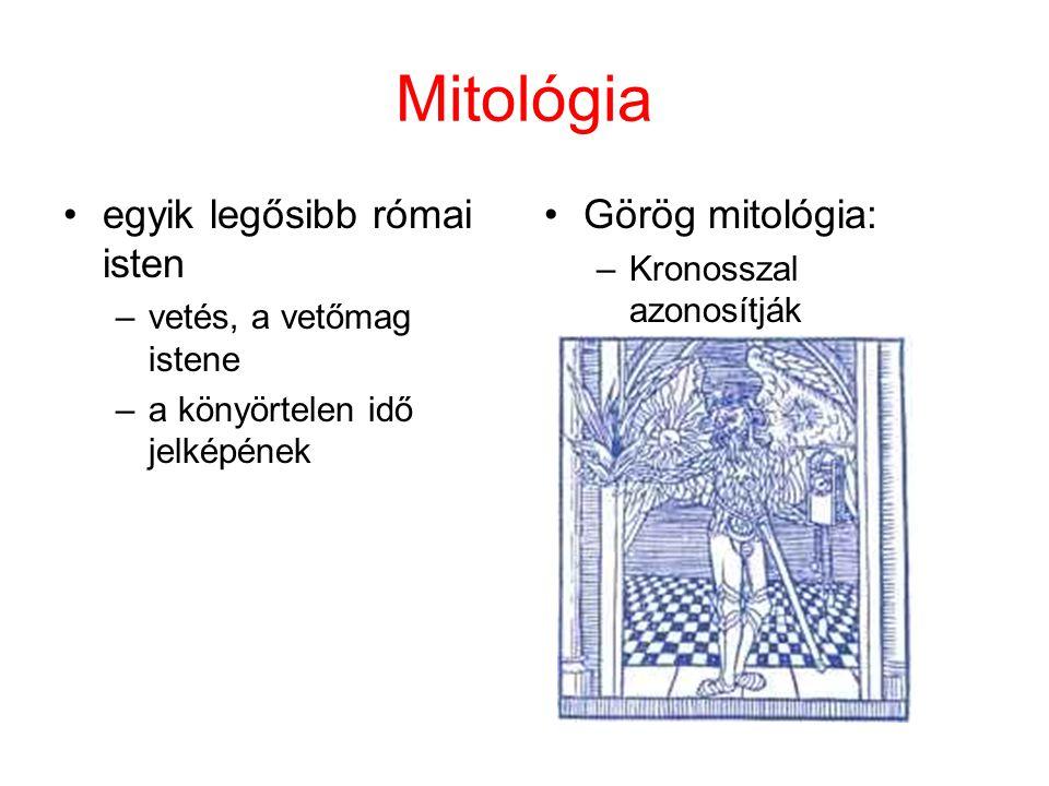 Mitológia egyik legősibb római isten Görög mitológia:
