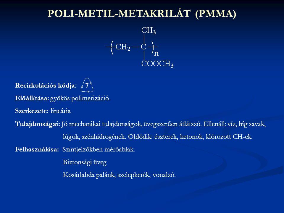 POLI-METIL-METAKRILÁT (PMMA)