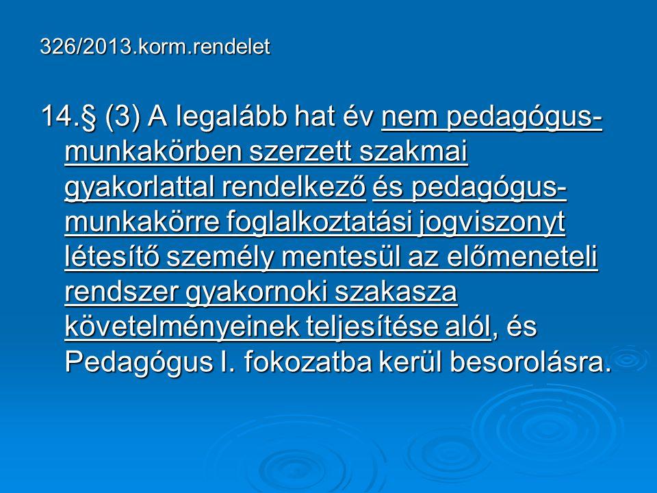 326/2013.korm.rendelet