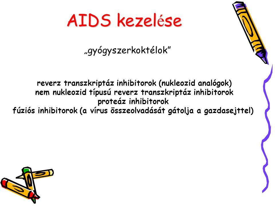 """AIDS kezelése """"gyógyszerkoktélok"""