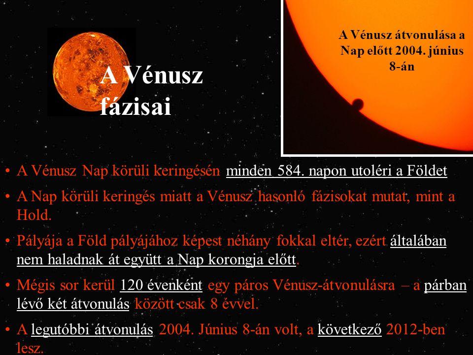 A Vénusz átvonulása a Nap előtt 2004. június 8-án