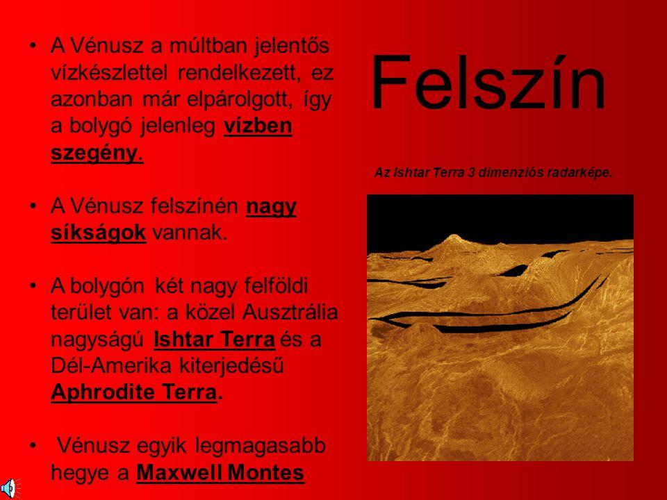A Vénusz a múltban jelentős vízkészlettel rendelkezett, ez azonban már elpárolgott, így a bolygó jelenleg vízben szegény.