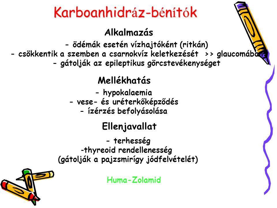 Karboanhidráz-bénítók