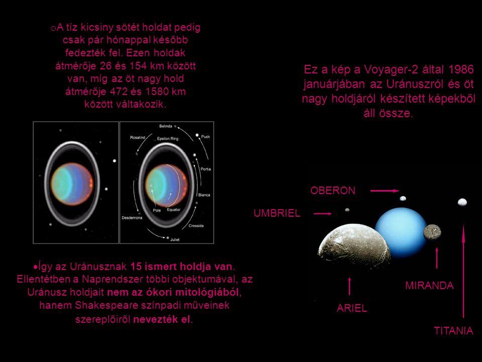 A tíz kicsiny sötét holdat pedig csak pár hónappal később fedezték fel