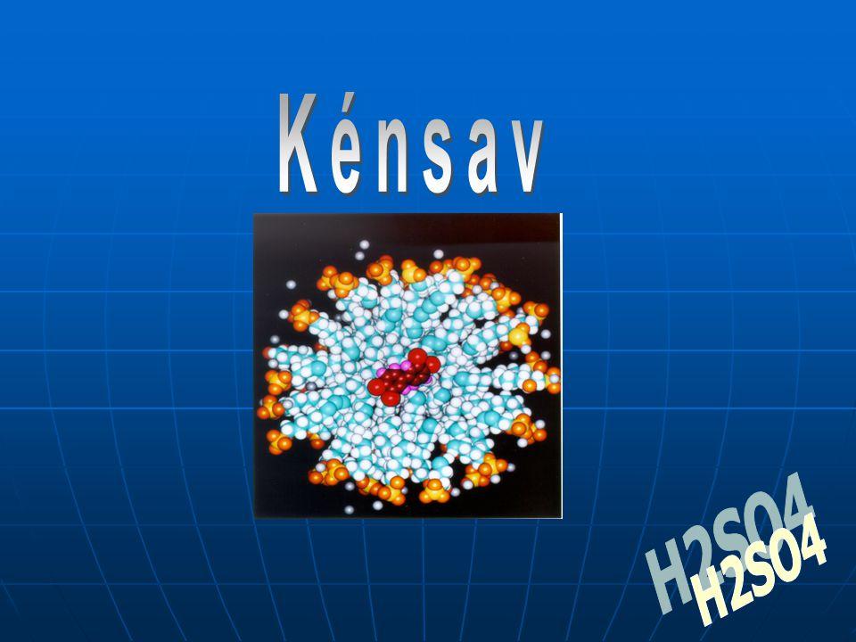 Kénsav H2SO4