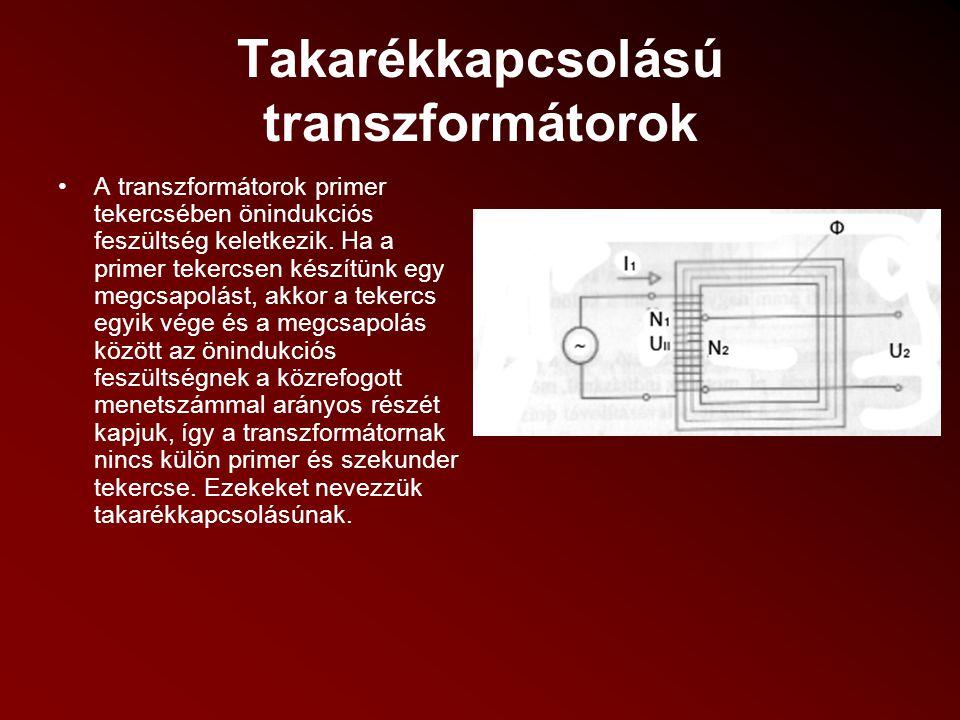 Takarékkapcsolású transzformátorok