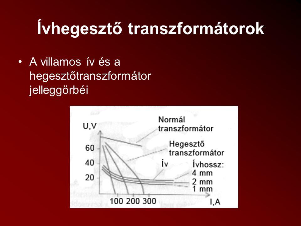 Ívhegesztő transzformátorok