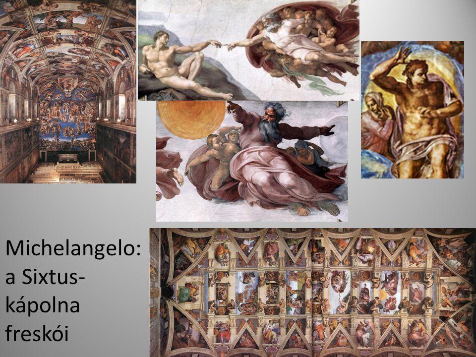 Michelangelo: a Sixtus-kápolna freskói