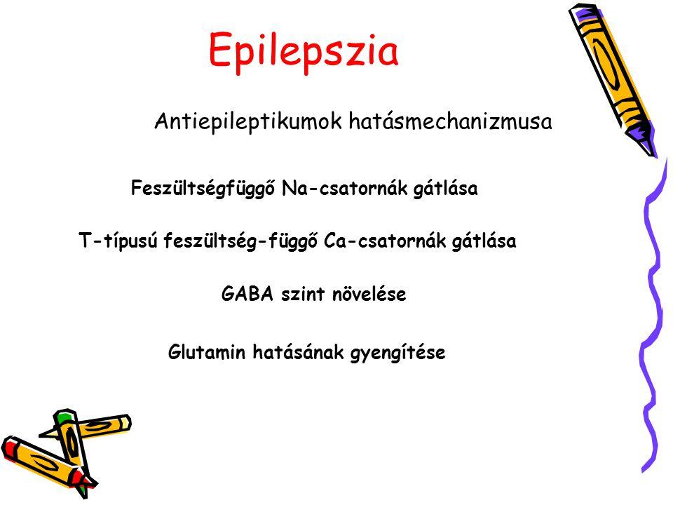 Antiepileptikumok hatásmechanizmusa