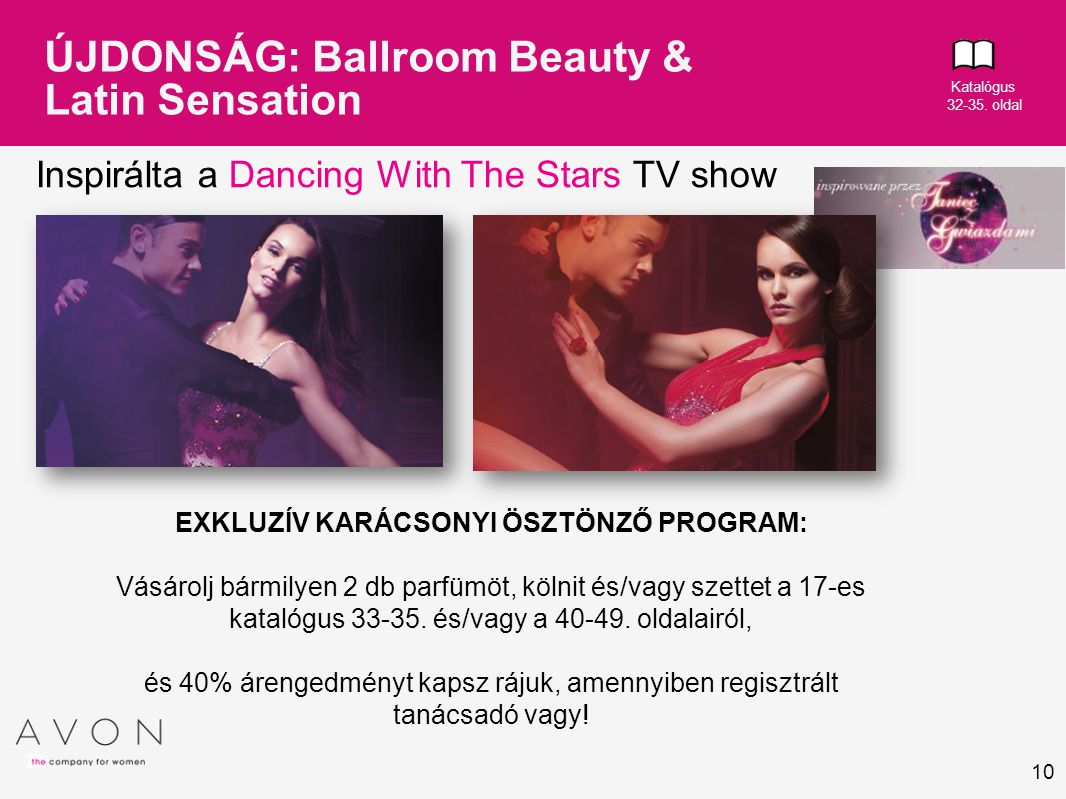 ÚJDONSÁG: Ballroom Beauty & Latin Sensation