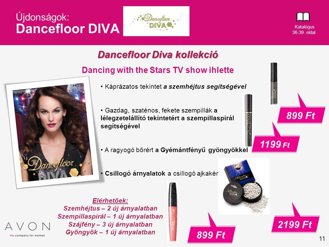 Újdonságok: Dancefloor DIVA