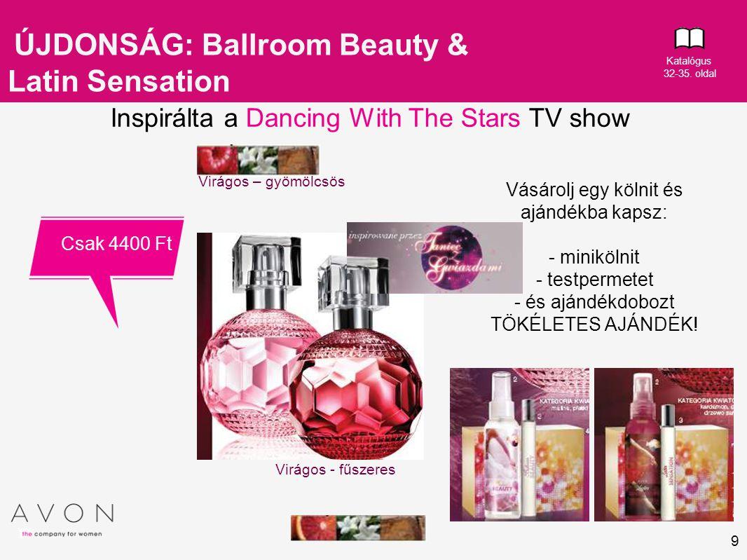 ÚJDONSÁG: Ballroom Beauty & Latin Sensation